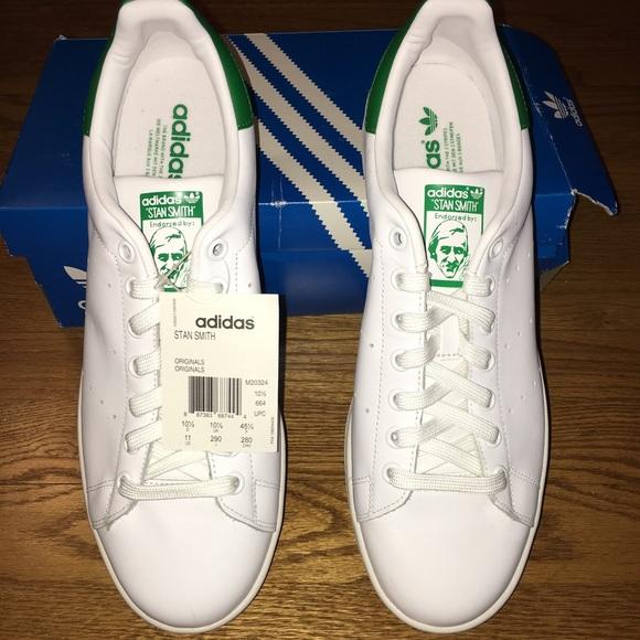 2f42f9195824eb NWT Men s Adidas Stan Smith Originals Sneakers